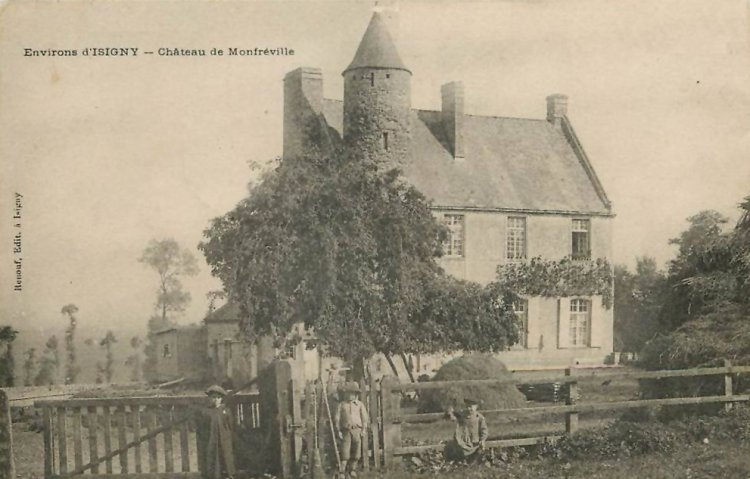 old picture of chateau monfreville